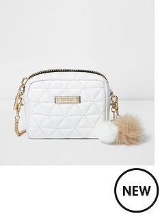 river-island-river-island-quilted-crossbody-with-tassle