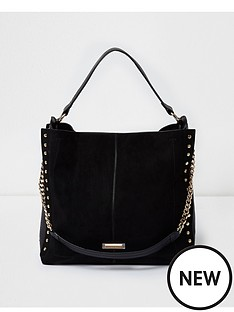 river-island-river-island-stud-detail-slouch-shoulder-bag