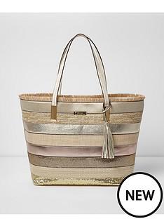 river-island-weave-beach-bag