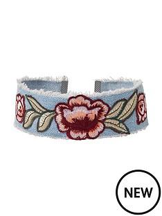 river-island-rose-embroidery-choker