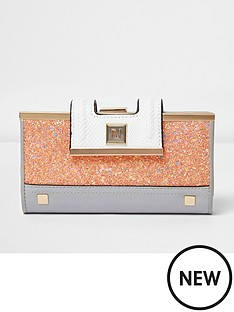 river-island-river-island-granny-cliptop-glitter-purse