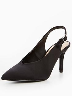v-by-very-glam-satin-low-vamp-heeled-shoe-black