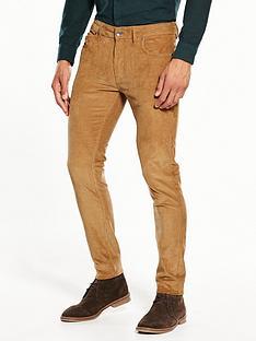 farah-drake-slim-fit-cord-trousers