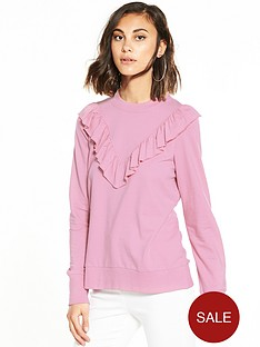 vero-moda-sweet-frill-long-sleeve-sweater-pink