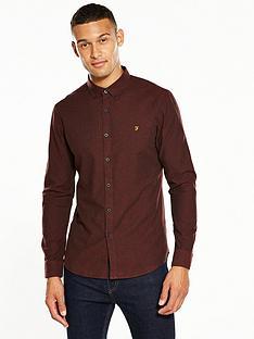 farah-steen-ls-brushed-oxford-shirt