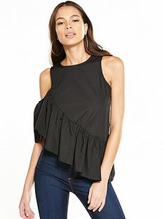 miss-selfridge-asymmetricnbsphem-one-shoulder-top