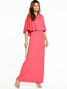 v-by-very-cape-maxi-dress