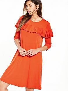v-by-very-frill-tea-dress