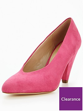 v-by-very-dolly-high-vamp-mid-heel-court-shoe-pink