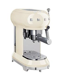 Smeg Smeg Ecf01 Espresso Coffee Machine - Cream Picture
