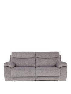 bling-3-seaternbspfabric-power-recliner-sofa