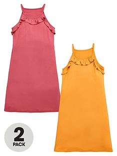 v-by-very-girls-ruffle-dresses-2-pack