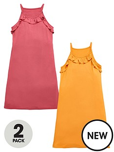 v-by-very-girls-ruffle-dresses-2-pack