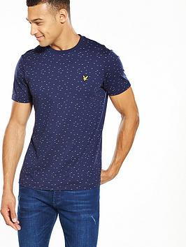 lyle-scott-lyle-amp-scott-fil-coupe-t-shirt