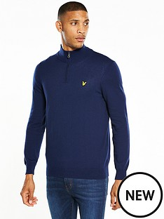 lyle-scott-lyle-amp-scott-14-zip-cotton-merino-jumper