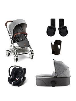 Mamas & Papas Mamas &Amp Papas Urbo2 5 Piece Bundle (Pushchair &Amp Carrycot Car Seat Adaptor &Amp Cup Holder)