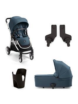 Mamas & Papas Mamas &Amp Papas Armadillo Flip Xt2 4 Piece Bundle (Pushchair Carrycot Cupholder &Amp Adaptors)