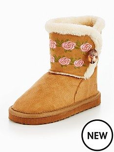 mini-v-by-very-patty-embroidered-faux-fur-suede-boot