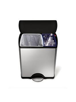 Simplehuman Rectangular Recycler Bin