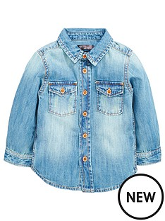 mini-v-by-very-mini-v-by-verynbspboys-washed-single-denim-shirt