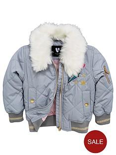 mini-v-by-very-girls-faux-fur-trim-badge-bomber-jacket