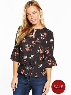 v-by-very-petite-printed-peplum-blouse