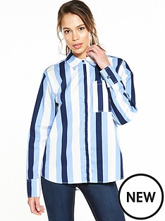 warehouse-stripe-shirt