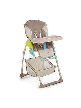 Hauck Hauck Sit&039N Relax Highchair  Multi Dots Sand
