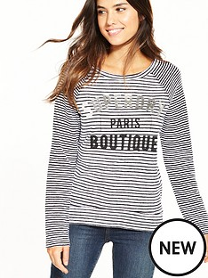 superdry-amour-stripe-graphic-top