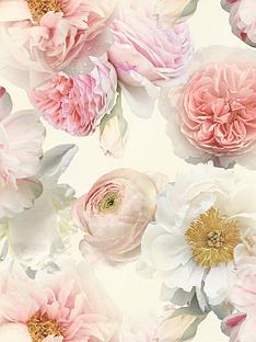 arthouse-diamond-bloom-floral-blush-wallpaper