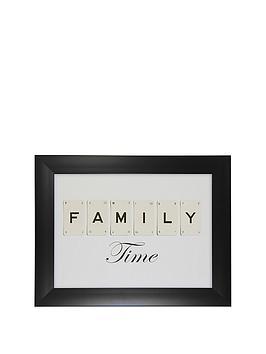 ideal-home-family-time-framed-print