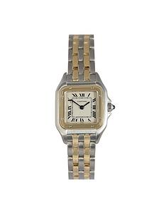 cartier-cartier-preowned-panthere-off-white-dial-bimetal-ladies-watch-ref1120