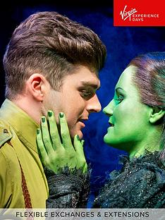 virgin-experience-days-wicked-top-priced-theatre-tickets-and-dinner-for-two-in-london