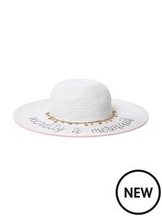river-island-river-island-girls-slogan-straw-floppy-hat