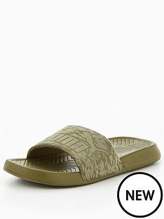 puma-popcatnbspslider-sandals-olivenbsp