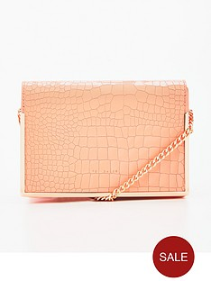 ted-baker-metal-border-leather-crossbody-light-red