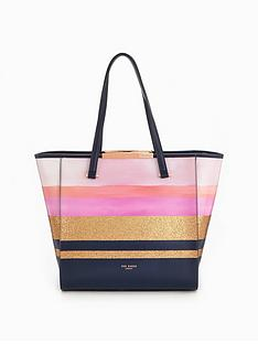 ted-baker-glitter-stripe-large-shopper