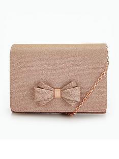 ted-baker-glitter-bow-evening-bag