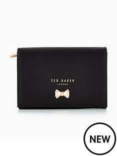 ted-baker-curved-metal-bow-mini-purse-black