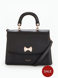 ted-baker-curved-bow-lady-bag-black