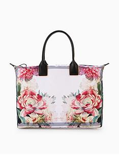 ted-baker-painted-posie-large-nylon-tote-bag