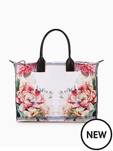 ted-baker-ted-baker-painted-posie-large-nylon-tote-bag