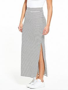 vila-honesty-new-maxi-split-skirt