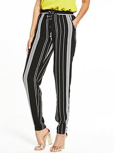 v-by-very-stripe-print-tapered-trousers-monochrome