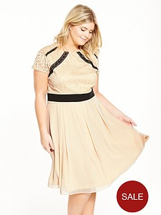 little-mistress-curve-lace-fit-and-flare-dress-cream