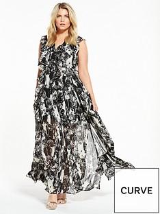 religion-curve-limit-dandelion-maxi-dress