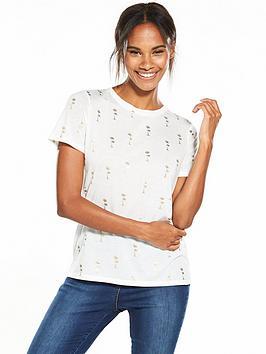 oasis-palm-foil-t-shirt-white