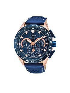 pulsar-blue-chronograph-blue-strap-mens-watch