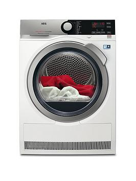Aeg T8Dee845R 8000 Series 8Kg Load Sensor Tumble Dryer
