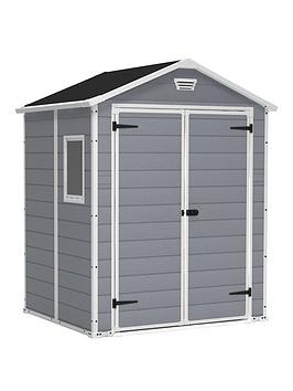 Keter Keter 6 X 5 Ft Manor Resin Shed Picture